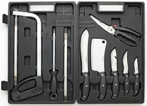 SKGP/00: Maxam Wild Game Processing Set - Don't Go Hunting Without This