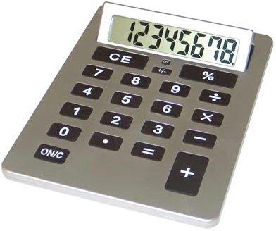 "HHCALXLG/00: Mitaki Japan HUGE 8"" x 11"" Jumbo Calculator: Great for Person w/ Arthritis/Poor Vision"