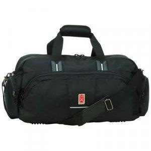 LURCTB1/00: Royal Crest Black Tote Bag