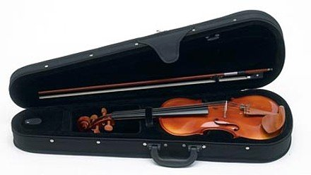 HHFVIOLIN/00: SALE Maxam Full Size Violin with Bow and Case