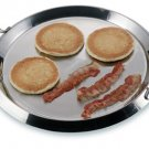 KTGRID2: Chef's Secret Stainless Steel Round Griddle with Glass Lid