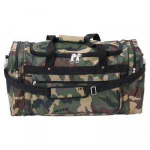 LUTBIC/00: Extreme Pak With Invisible Camo Pattern Polyester Tote Bag