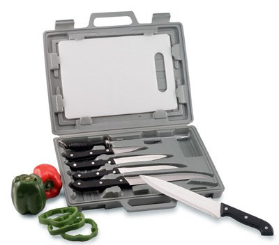 CT82/00: Maxam Knife Set with cutting board and Storage Case