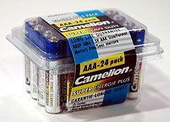 """R03P-BP24: CAMELION """"AAA"""" Super Heavy Duty Batteries-24: Add to order for little to no extra on S&H"""