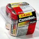 LR14-PB4: CAMELION C Alkaline Batteries-4 pk: Add to your order for little to no extra on S&H