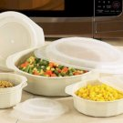 KTMW10/00: La Cuisine 10pc Microwave Cookware Set