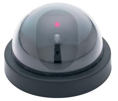 ELCAMERA2/00: Mitaki Japan Non-Functioning Low Profile Mock Security Camera