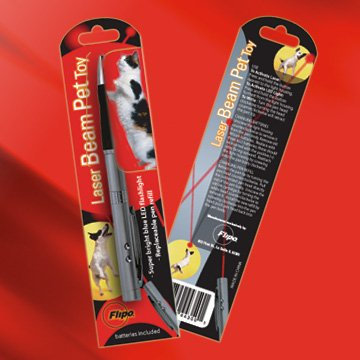 LAS-PEN/00: 3 in 1 Laser Beam, LED light and Pen Pet Toy
