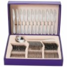 FW47/00: Sterlingcraft 49pc Stainless Steel Flatware Set