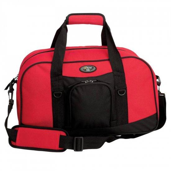LUSDRB18/00: Extreme Pak Unisex 18� Red Sport Duffle Bag
