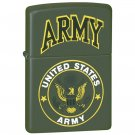 221540/00: Zippo Army Lighter - Made in the USA