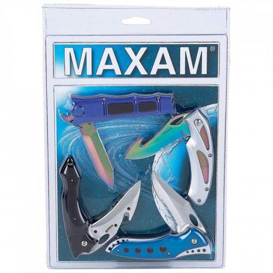 SKFANSET4C/00: Maxam 4 pc Fantasy Knife Set