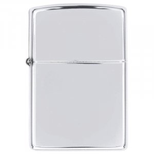 24702/00: Zippo Polish Chrome Lighter - Made in the USA