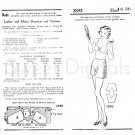 Digital: 20s Brassiere & Pantees Sewing pattern Vintage Bra Lingerie PDF Pattern Instant Download