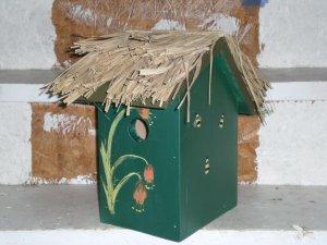 Cabana Banana Bird House Hand-Made!