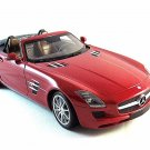 MERCEDES - BENZ SLS ROADSTER 2011,MINICHAMPS 1/18 DIECAST COLLECTOR'S CAR MODEL
