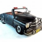 Vintage classic look , hand made ,black metal Cadillac model ,collectible RARE