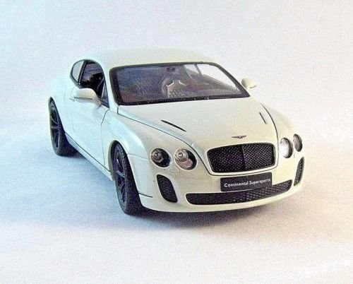 BENTLEY CONTINENTAL SUPERSPORTS, WELLY 1/24 DIECAST CAR MODEL,COLLECTOR'S MODEL