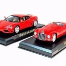 SET*2 CAR MODELS FERRARI 125S 1947,FERRARI 360 MODENA 1999-05 RED IXO/ALTAYA1/43