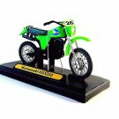 KAWASAKI KDX250 DIECAST MOTORMAX MOTORCYCLE MODEL 1:18 COLLECTOR'S MODEL, NEW