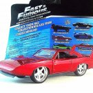 DODGE CHARGER DAYTONA 1969 FAST AND FURIOUS 6-2013, RED JADA 1:32 DIECAST MODEL