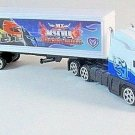 TRANSPORT TRUCK,WHITE MOTORMAX DIECAST CAR/TRUCK COLLECTOR'S MODEL,NEW
