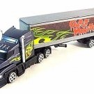 TRANSPORT TRUCK,METALLIC PURPLE MOTORMAX DIECAST CAR/TRUCK COLLECTOR'S MODEL,NEW