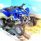 ATV YAMAHA YFZ 450 BLUE NEWRAY 1:12 DIECAST ATV COLLECTOR'S MODEL, NEW