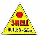 SHELL ,METAL PLATE - SHELL DIORAMAX 1/1 ,CAR COLLECTOR'S ITEM,HIGH QUALITY ,NEW