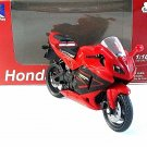 HONDA CBR600RR NEWRAY 1:18  ,RED DIECAST MOTORCYCLE COLLECTOR'S MODEL ,RARE,NEW