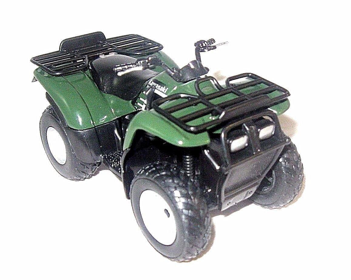 2002 ATV KAWASAKI PRAIRIE 400,GREEN WELLY1/19 DIECAST ATV COLLECTOR'S MODEL,NEW