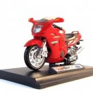 HONDA CBR 1100XX WELLY 1:18 DIECAST MOTORCYCLE COLLECTOR'S MODEL  RARE , NEW