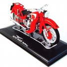 MOTO GUZZI ASTORE RED DIECAST EDICOLA 1/24 COLLECTOR'S MOTORCYCLE MODEL ,NEW