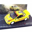 PEUGEOT 307 WRC#25, 2006 YELLOW ALTAYA 1/43 DIECAST CAR COLLECTOR'S MODEL, NEW