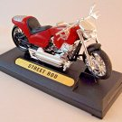 HARLEY DAVIDSON STREET ROD DIECAST MOTORMAX 1/18 COLLECTOR'S MOTORCYCLE MODEL