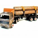 MERCEDES-BENZ TRUCK, METALLIC BROWN WELLY DIECAST CAR/TRUCK COLLECTOR'S MODEL