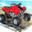 ATV HONDA TRX450R RED NEWRAY 1:12 DIECAST ATV COLLECTOR'S MODEL, NEW