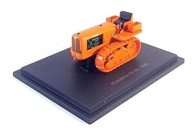 HOTCHKISS 30/40-1948 ,ORANGE ALTAYA 1/43 DIECAST TRACTOR COLLECTOR'S MODEL .NEW