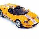 FORD GTX1 ORANGE NEWRAY 1/43 DIECAST CAR MODEL, CAR COLLECTOR'S MODEL , NEW