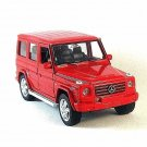 MERCEDES-BENZ G-CLASS, RED WELLY 1/32 DIECAST CAR COLLECTOR'S MODEL ,RARE,NEW
