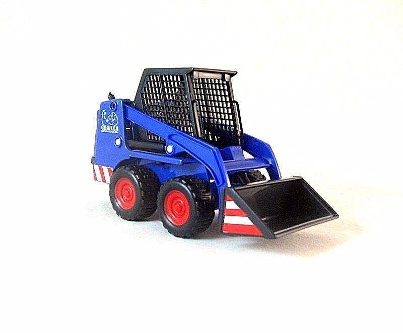 SHOVEL LOADER BLUE WELLY 1/32 DIECAST CAR COLLECTOR'S MODEL, NEW