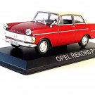 OPEL REKORD P2 , RED ALTAYA 1/43 DIECAST CAR COLLECTOR'S MODEL,RARE,NEW