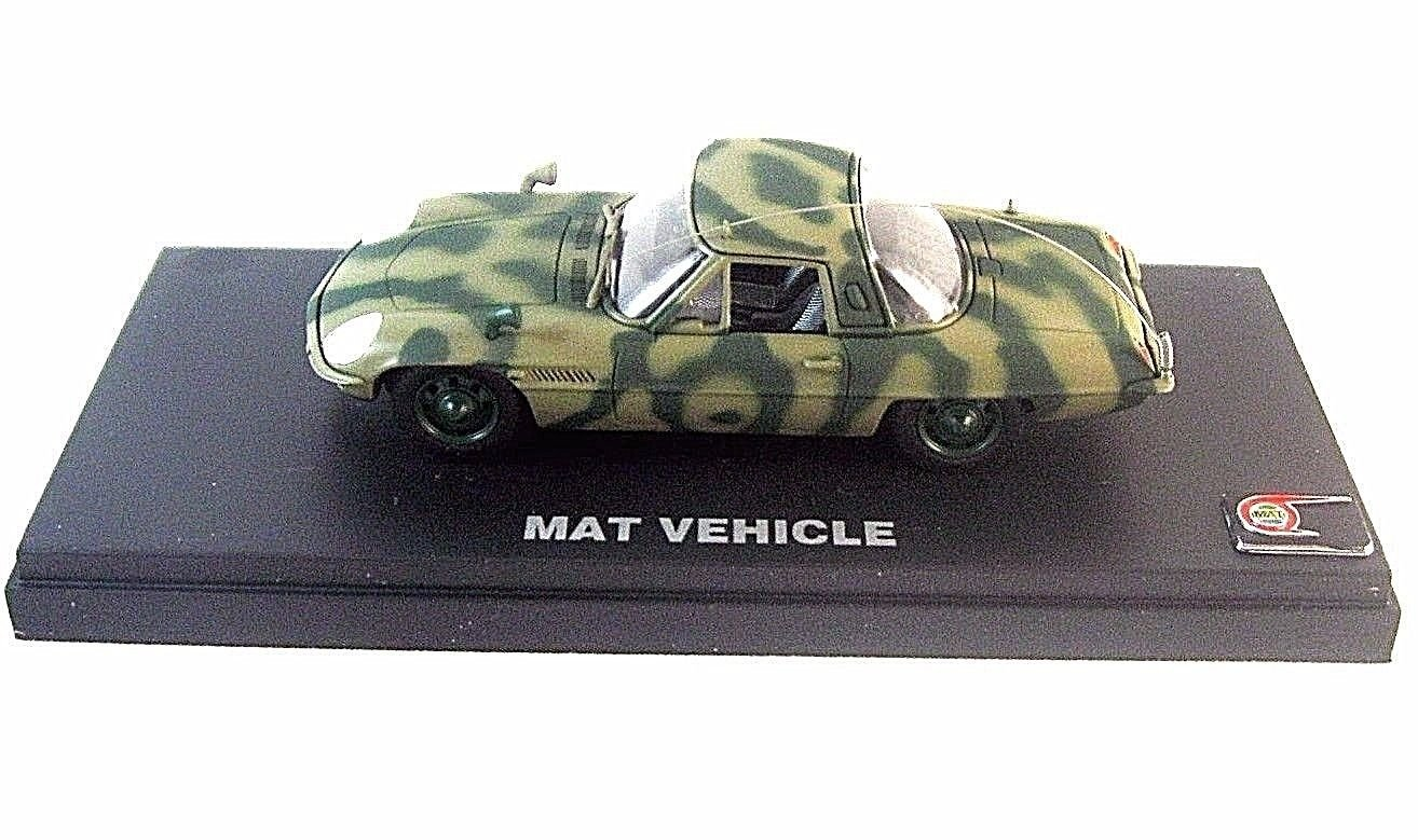 MAT VEHICLE CAMOUFLAGE, KYOSHO 1/43 DIECAST CAR COLLECTOR'S MODEL , RARE, NEW