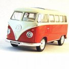 1963 VOLKSWAGEN T1 BUS ,METALLIC ORANGE WELLY 1:32 DIECAST CAR COLLECTORS MODEL