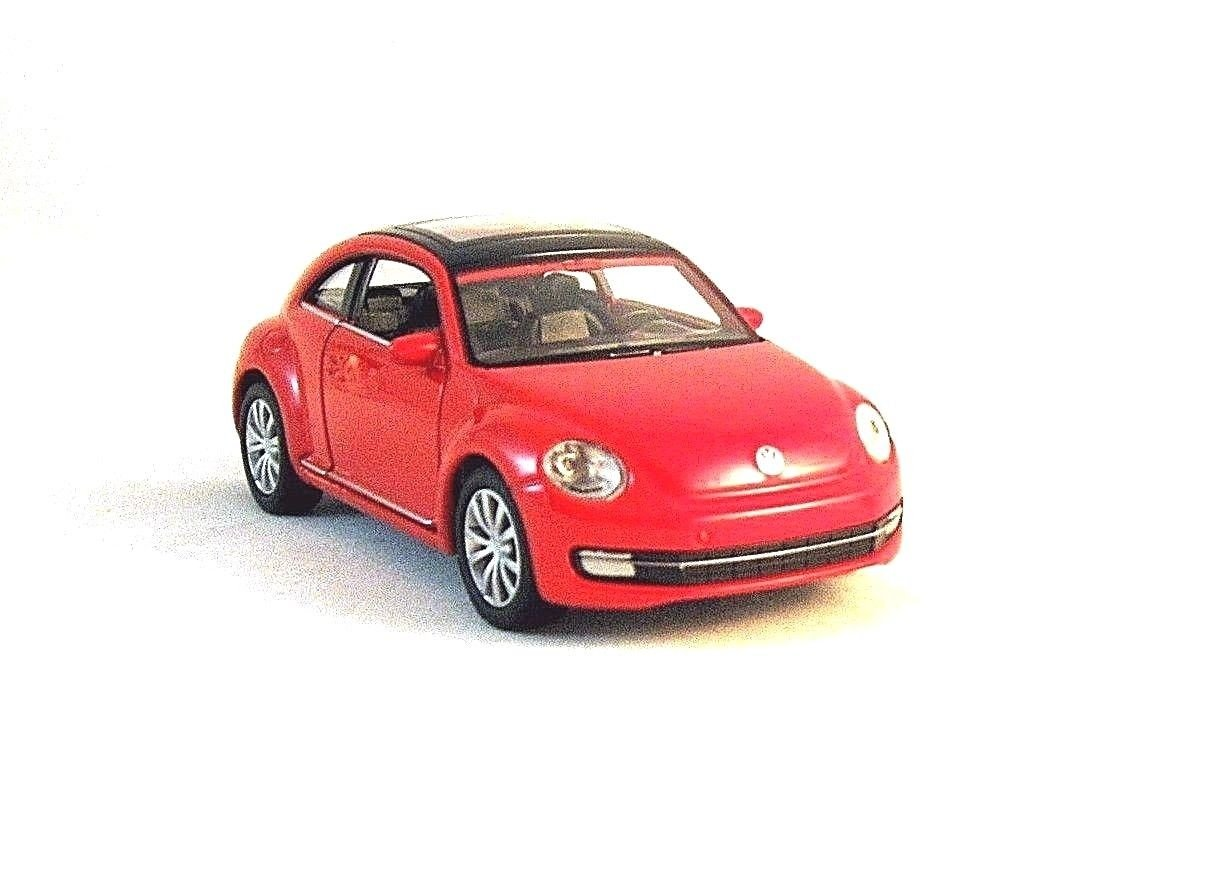 VOLKSWAGEN NEW BEETLE, RED WELLY 1/38 DIECAST CAR MODEL,COLLECTIBLE MODEL ,NEW