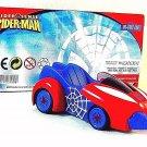 SPIDERMAN CAR- MARVEL,DIECAST MONDOMOTORS 1/43 ,COLLECTOR'S MODEL, RARE ,NEW