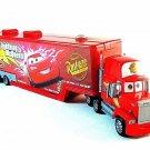 CARS-DISNEY PIXAR CARS, RED LIGHTING McQUEEN TRAILER TRUCK YEAR 2008,HIGH QUALTY