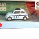 FIAT 500 MECCANICA ELABORAZIONI N.313 MONDOMOTORS 1/43 DIECAST CAR MODEL , NEW