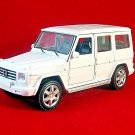 MERCEDES-BENZ G-CLASS,WHITE WELLY 1/32 DIECAST CAR COLLECTOR'S MODEL ,RARE,NEW