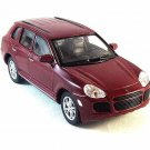 PORSCHE CAYENNE TURBO ,BORDEAUX WELLY 1/32 DIECAST CAR COLLECTORS MODEL , NEW